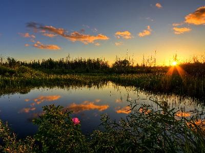 湖の夕日.jpg